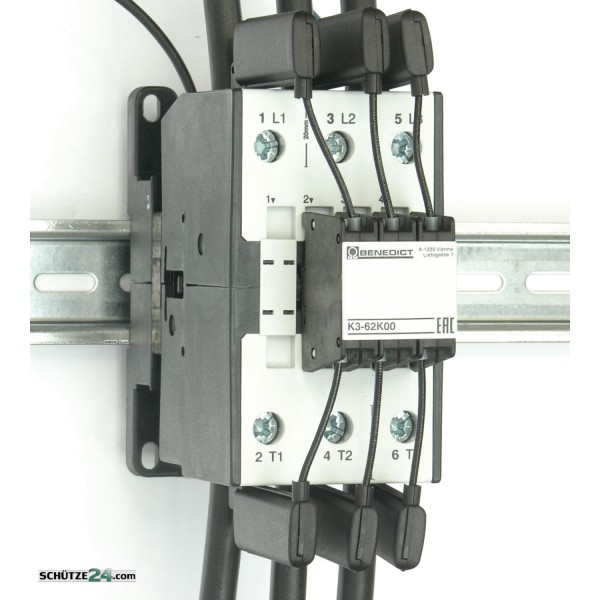 K3-62K00 230 Kondensatorschütz 50 kVAr Benedict