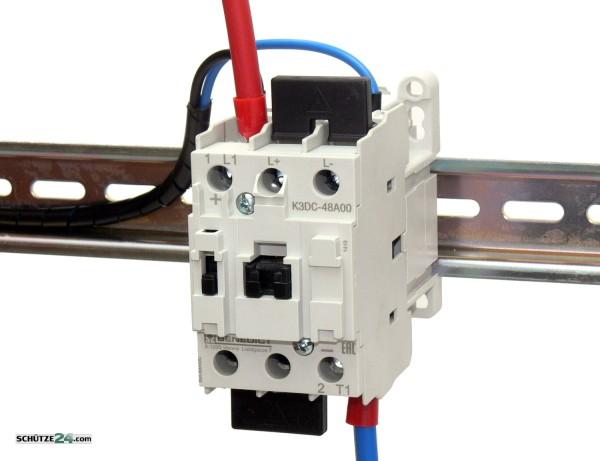 K3DC48A00 230 Gleichspannungsschütz bis 600 VDC