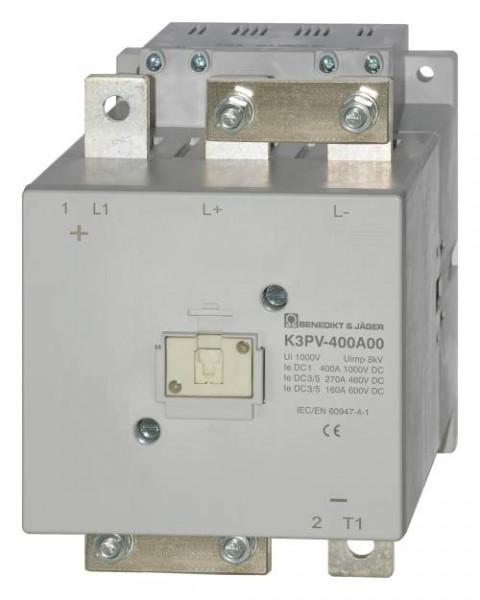 K3PV-400A00 Schütze für Energiespeicher