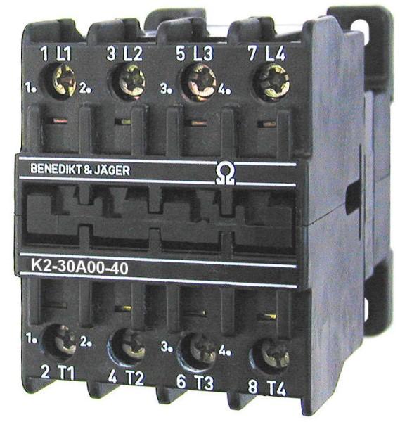 K2-30A00-40 34,5kw 50A 4poliges Leistungschütz