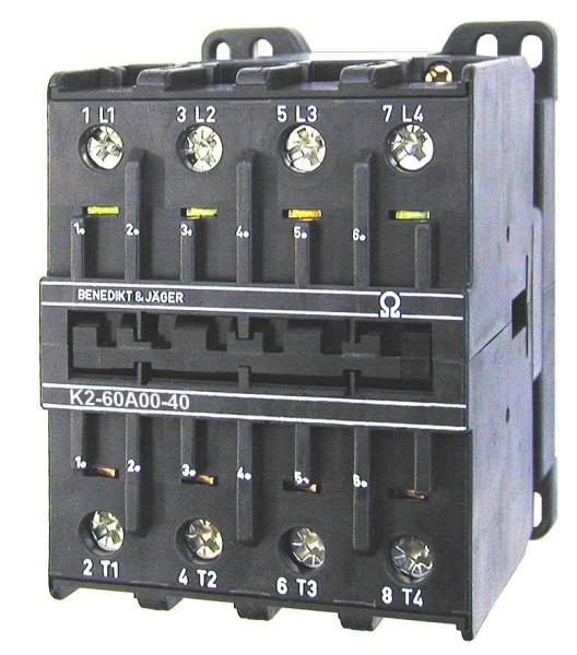 K2-60A00-40 69kw 100A 4poliges Leistungschütz