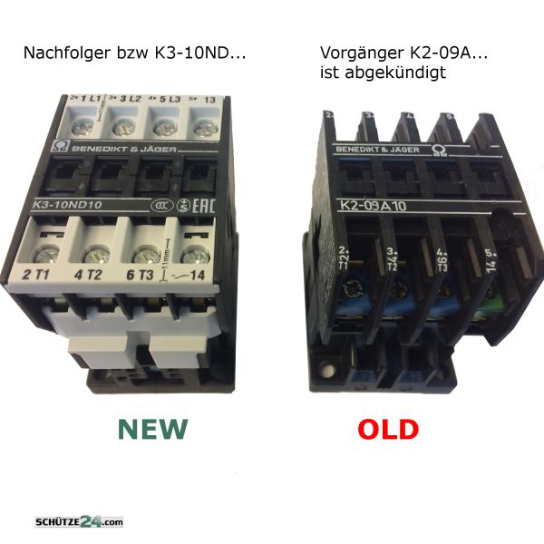 K2-09A10, K2-09A10, Nachfolger ist K3-10ND..