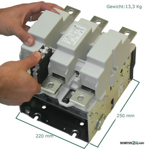 Contuctor AC1:800A K3-550A22