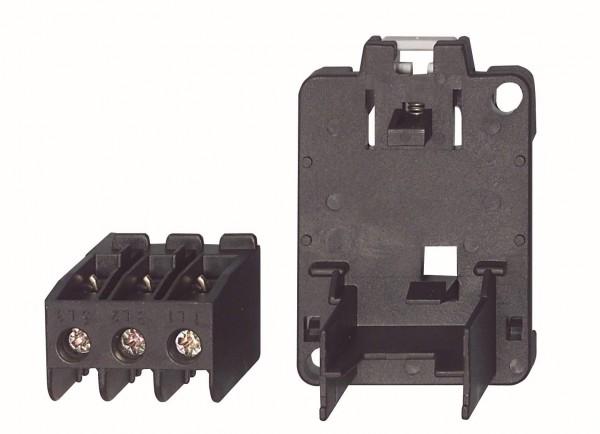 U12SM K3, Set, Primärleiterklemme, Einzelaufstellung, DIN-Schiene