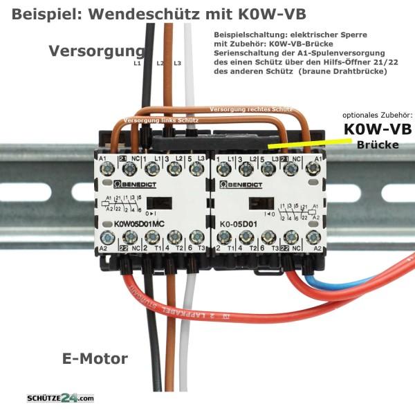 Mikro-Wendeschütz K0W05D