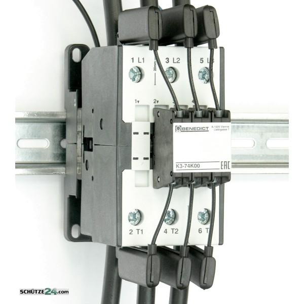 K3-74K00 230 Kondensatorschütz 75 kVAr Benedict