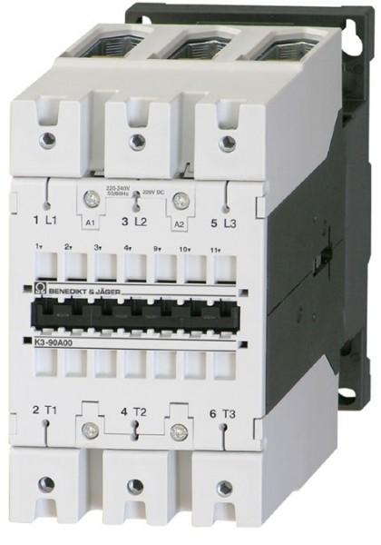 Leistungsschütz K3-90A00 schaltet 45 kW / 160A