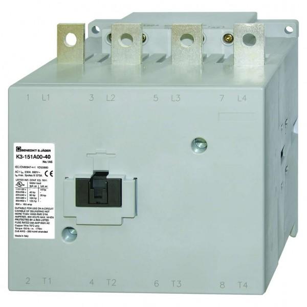 K3-151A00-40 159kw 230A 4poliges Leistungschütz