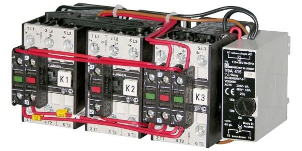 K3Y40 Sterndreieckschaltung anschlussfertig verdrahtet ab Werk