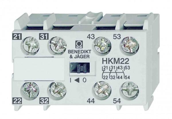 Hilfskontakt HKM22 2Öffner 2 Schließer 21 31 43 53