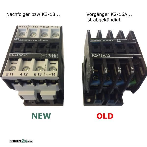 K2-16A.. wurde ersetzt