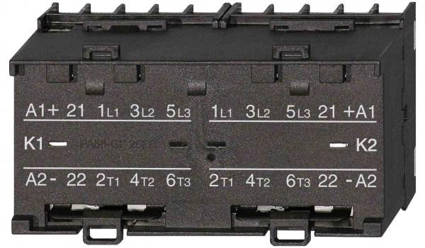 Mini-Wendeschütz K1W09L schaltet 4kW / 16A