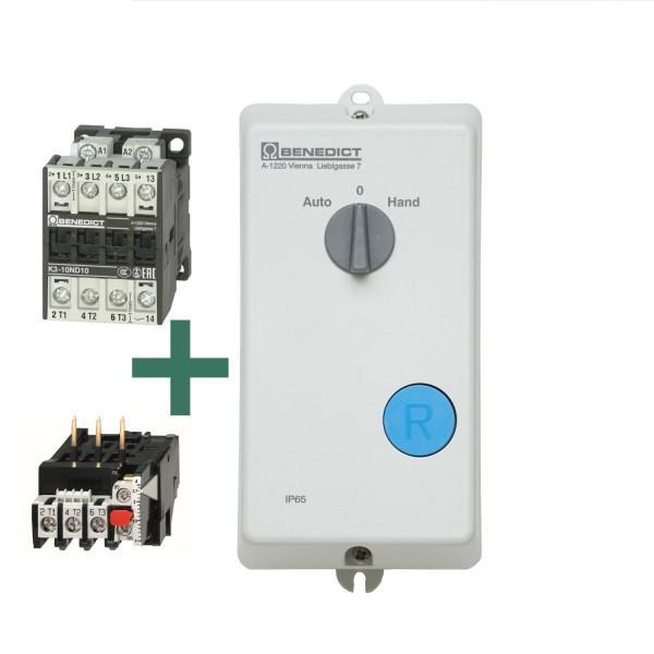 P1W Direktstarter mit Schalter und Motorschutzrelais